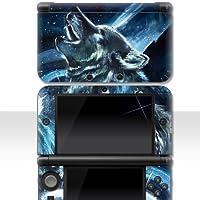 """Nintendo 3DS XL Skin """" WOLF """" Aufkleber Sticker Folie Schutzfolie"""