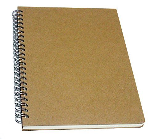 YUREE Spiral Notebook/Spiral Journal, Hardcover Spiral Lined Notebook, 140 Pages with Wide Ruled, A5, 8.4