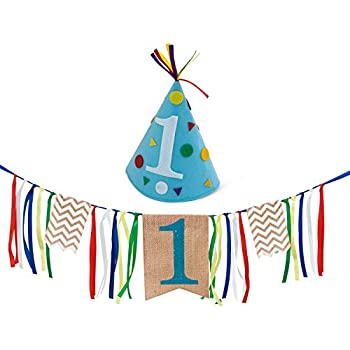 Boy First Birthday Decorations
