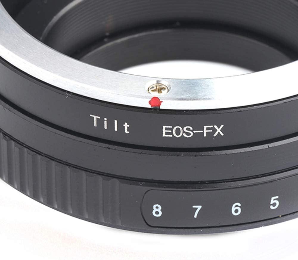 Pixco Lens Adapter for Tilt Canon EOS EF Lens to Fuji Film X-A5 X-A20 X-A10 X-A3 X-A2 X-A1 X-T2 X-E3 X-E2S X-E2 X-E1 X-T100 X-T10 X-T1IR X-T1 X-T20 X-H1 X-M1 X-Pro1 X-Pro2 Camera Adapter