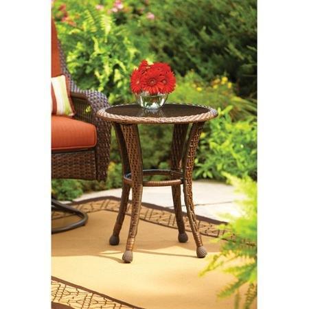 """Better Homes and Gardens Azalea Ridge 20"""" Round Outdoor Side Table from Better Homes and Gardens"""