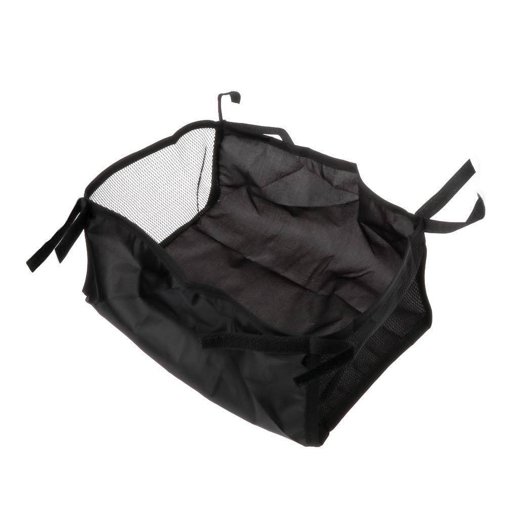 Manyo Baby Stroller Basket Stroller Hanging Basket Pram Bottom Organizer Bag (L)