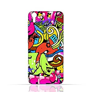 HTC Desire Eye TPU Silicone Case with graffitii hip hop 2