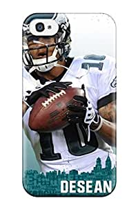 High Impact Dirt/shock Proof Case Cover For Iphone 4/4s (philadelphia Eagles Fp )