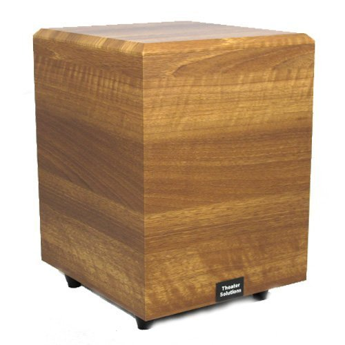 Where Can You buy Theater Solutions SUB10DM Down Firing Powered Subwoofer (Mahogany)