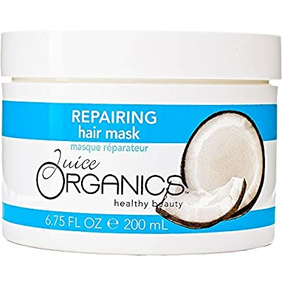 Juice Organics Repairing Hair Mask, Coconut, 6.75 fl. oz. by Juice Organics