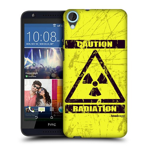 Head Case Designs Radiation Hazard Symbols Protective Snap On Hard