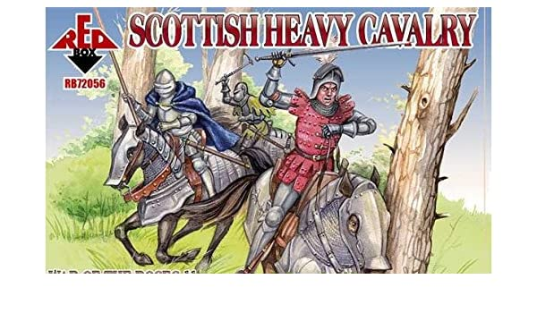 RED BOX 1//72 Scottish Heavy Cavalry War of the Roses # 72056