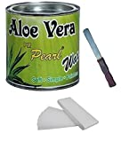 Motoway Aloe Vera Hot Body Wax 600Gm For Hair Removal With 100 Wax Strips With Free Knife