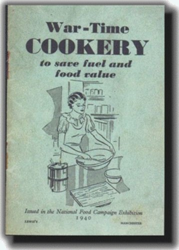 UK War-time Cookery Booklet - World War 2 (Booklet Resource)