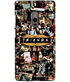 EU4IA MULTICOLOR FRIENDS MATTE FINISH 3D MATTE FINISH Back Cover Case For ONE PLUS TWO - D655