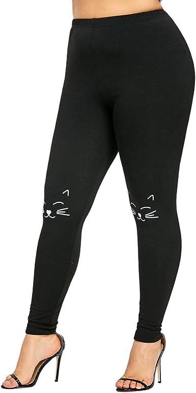 Bluestercool Pantaloni Sportivi Da Yoga Per Donna Leggings Con Stampa Cat Amazon It Abbigliamento