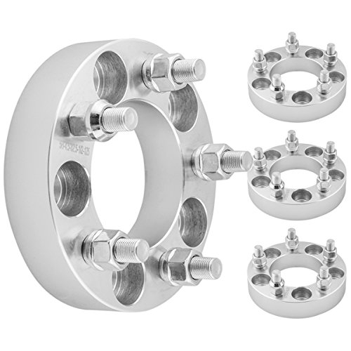 GDSMOTU 4pc Wheel Spacers for Jeep Ford 5 Lug, 1.25