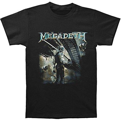 Megadeth Men's Dystopia Album T-shirt Black