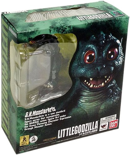 Bandai Little Godzilla and Crystal Set – S.H. MonsterArts, Baby & Kids Zone