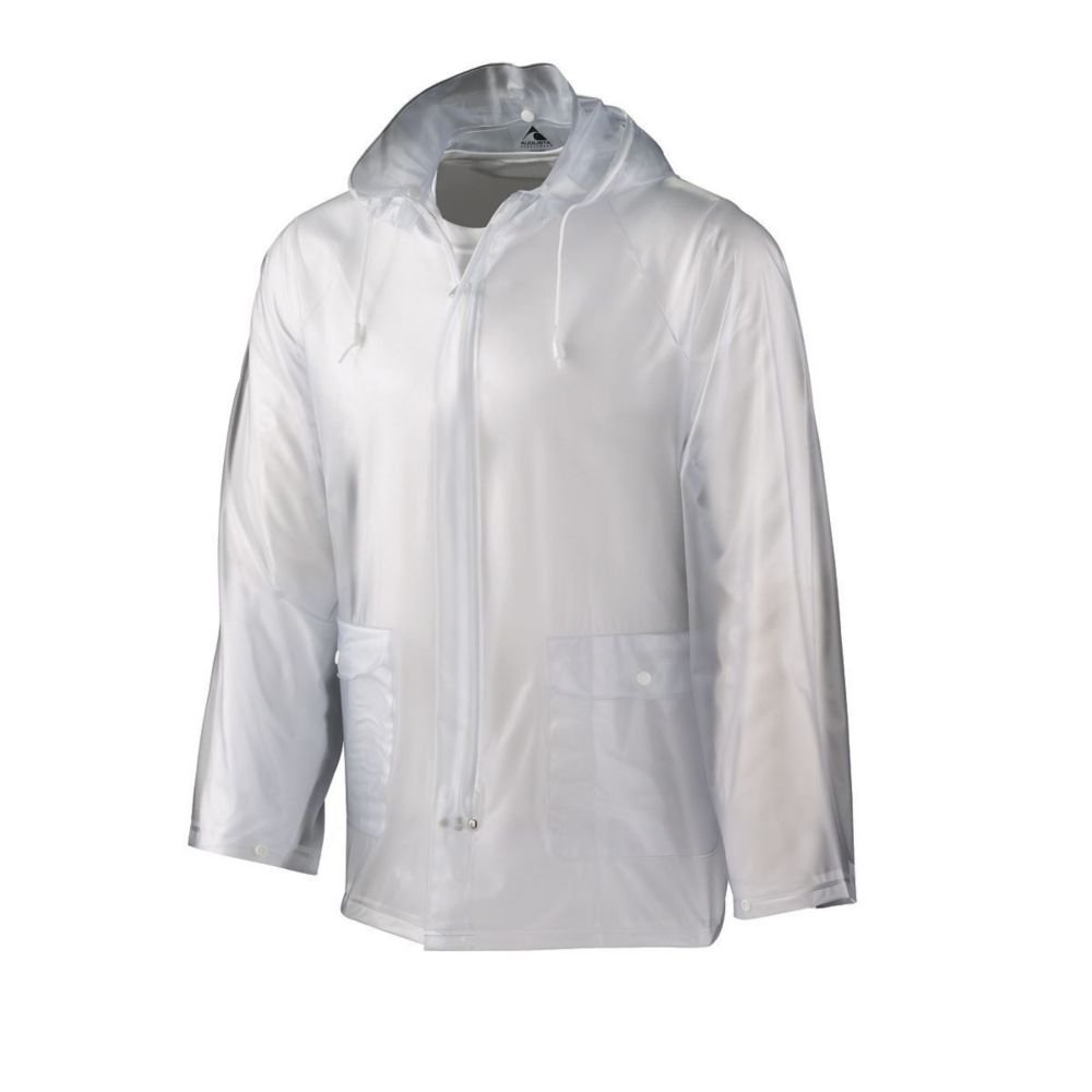 Augusta Activewear Mens Clear Rain Jacket