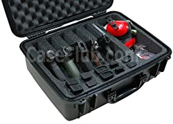 Case Club Waterproof 5 Pistol Case & Accessory Pocket with Silica Gel Review