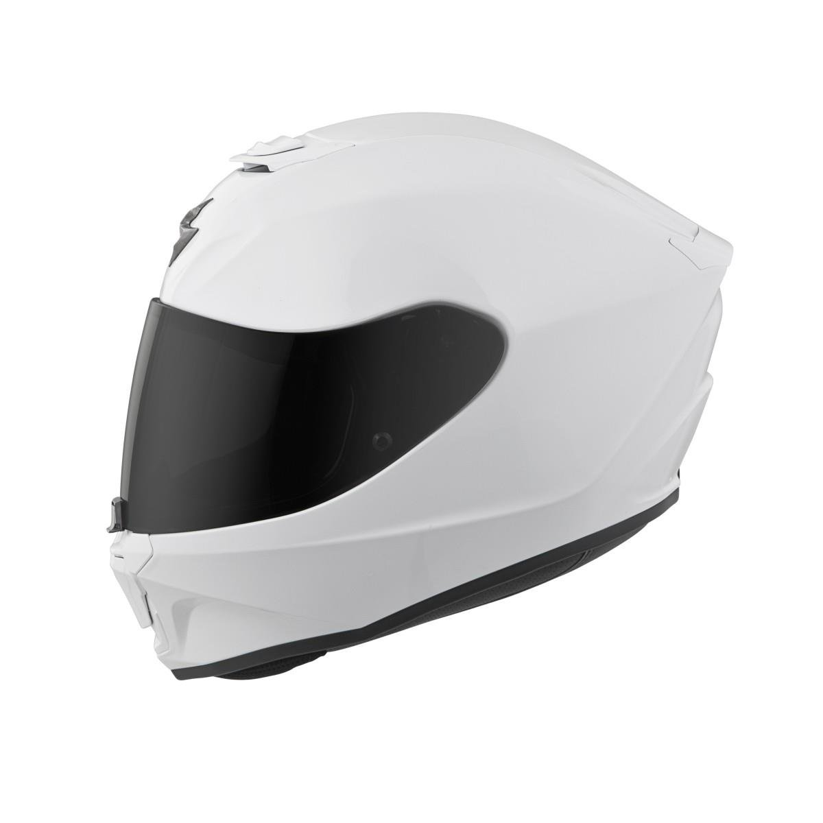 Scorpion EXO-R420 Full-Face Solid Street Motorcycle Helmet White//X-Large