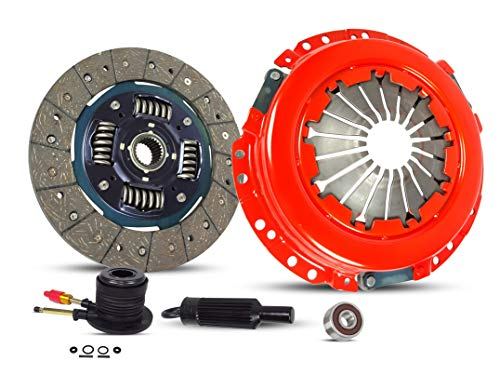 - Clutch With Slave Kit Works With Gmc Canyon Chevy Colorado Canyon Isuzu I-280 I-290 Z71 Z85 SL SLE SLT WT Extended Fleet 2004-2012 2.8L 2770CC 169Cu. In. l4 GAS DOHC Naturally Aspirated (Stage 1)