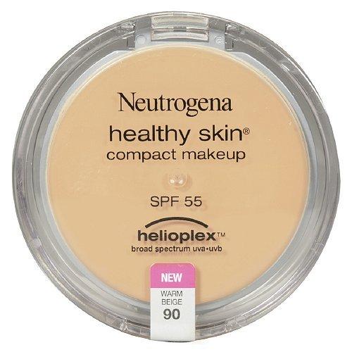 Neutrogena Healthy Skin Compact Makeup , Warm Beige 90 0.35 oz (9.9 g)