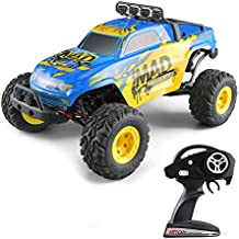 RC Cars,KINGBOT 1:12 4WD High Speed 40 KM/H Big Size Short-Courses Truck Electric Remote Control Off Road Monster Hobby RC Buggy Cars with 7.4V/1500mAh Rechargeable Batteries