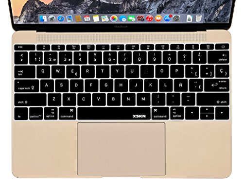 XSKN Spanish Silicone Keyboard Skin Cover for MacBook 12