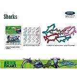 FOCO Animal Planet Shark Logo Bandz Bracelets