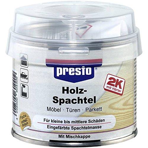 Presto 604416 Spezialspachtel Holzspachtel Dunkel, 250 g D&W Germany de automotive E7KWD