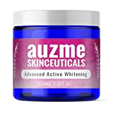 Whitening Cream by Auzme Advanced Skin Lightening Cream Dark Spot Melasma Corrector for Face and Body Gentle Skin Bleaching Treatment for All Skin Types
