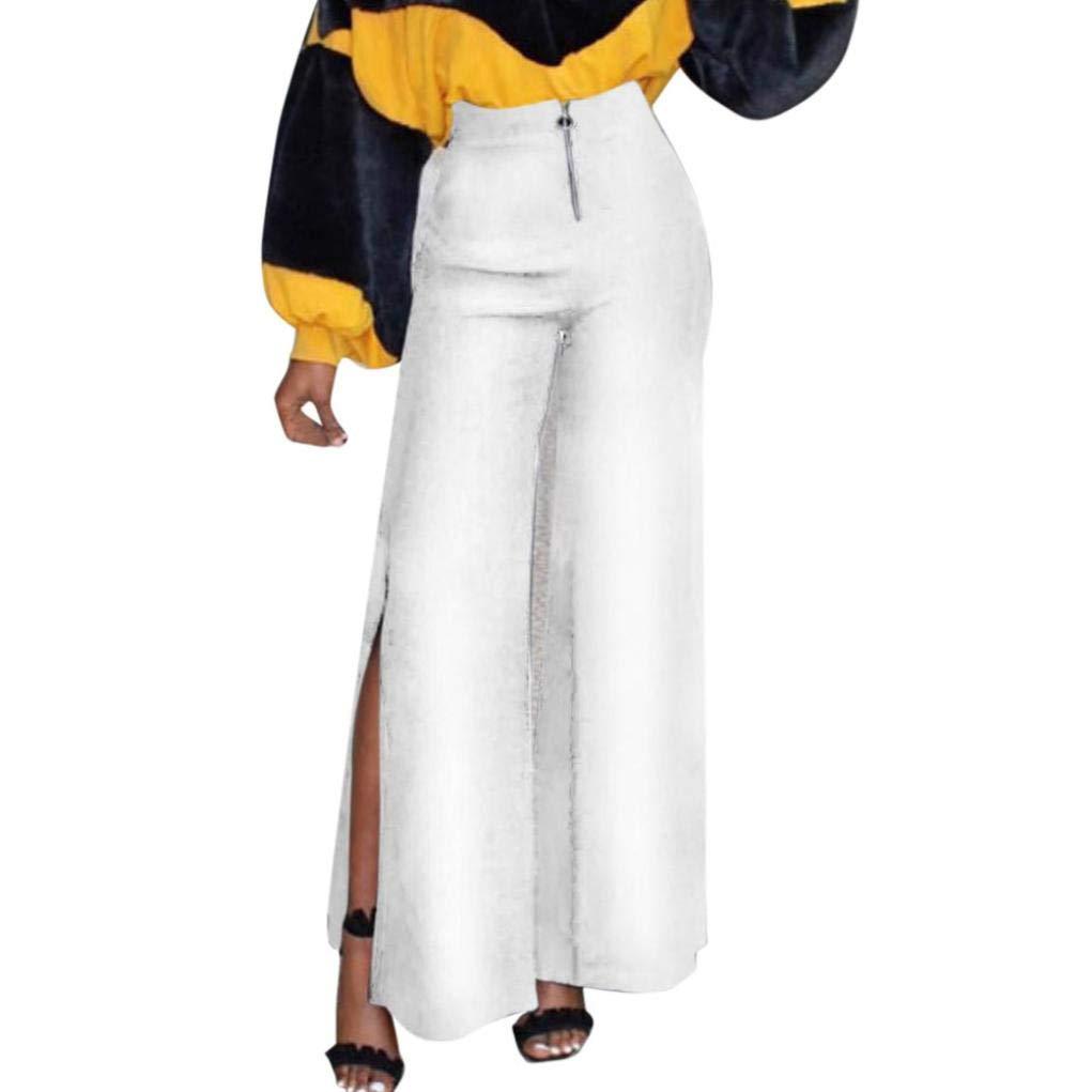 Muranba Pants APPAREL レディース B07GGYXJF9 ホワイト Small