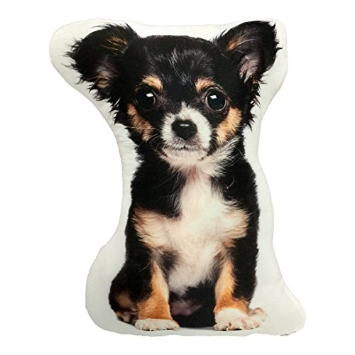 Cute Long Hair Chihuahua Dog Shaped Pillow Decor Cool Home Decor Olivia Decor - decor for ...