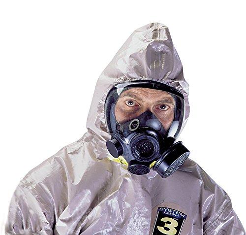 MSA 813860 Advantage 1000 Riot Control Gas Mask, Small, Black