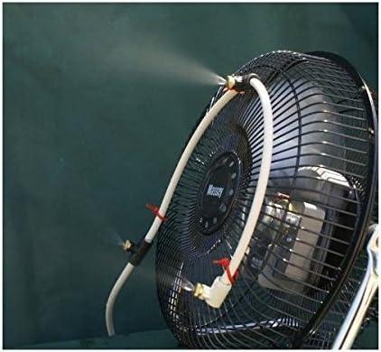 3 Boquilla Fan Mister W/O eléctrico Ventilador: Amazon.es: Jardín