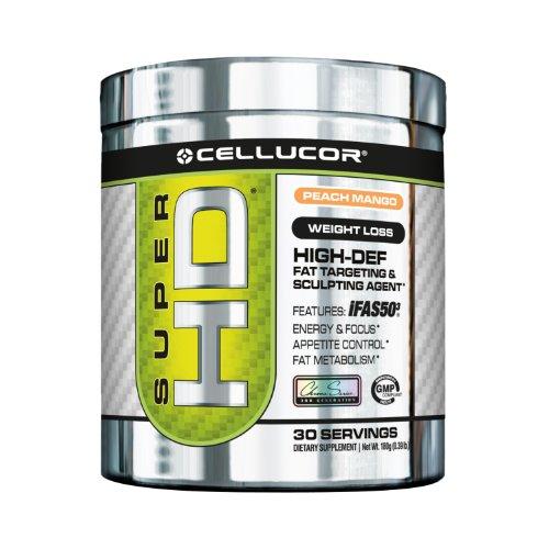 Cellucor Super HD poudre, pêche et mangue, 180 Gram
