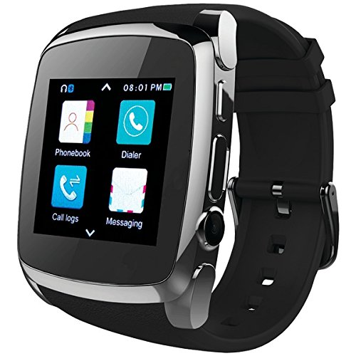 SuperSonic Bluetooth Smart Watch with Call Feature ()