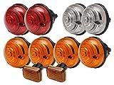 LAND ROVER DEFENDER 300TDI & TD5 LAMP KIT- SIDE FLASHER BRAKE OEM WIPAC PART: DA1080