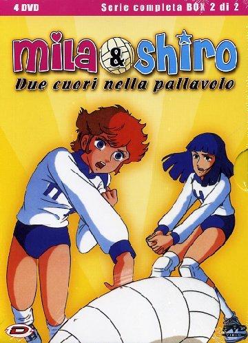 Mila e shiro due cuori nella pallavolo cartone degli anni