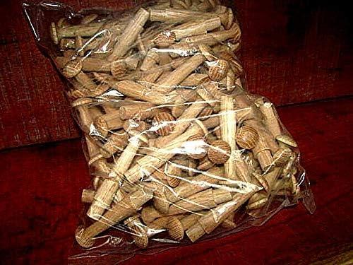 ZCH NIFER Supplies for Wholesale New Unfinished Oak Shaker PEG 3 1//2 Long 1//2 Tenon 125 Pieces C