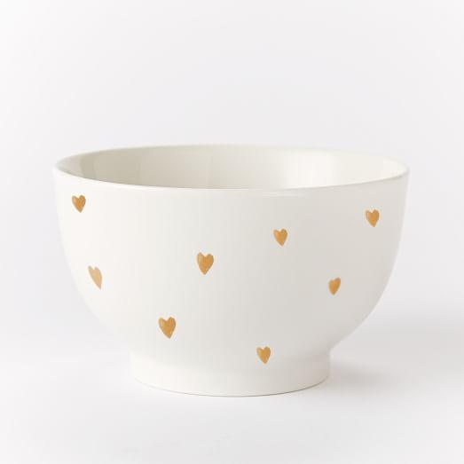 St. Jude Valentine Teeny Heart Bowl + Mug | west elm