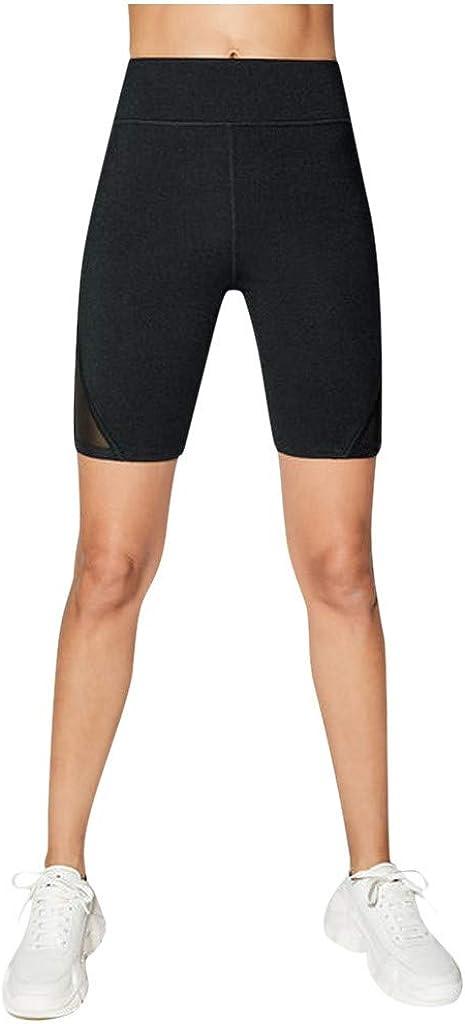 cinnamou Pantalones Cortos Mujer, Pantalones Cortos con Costuras ...