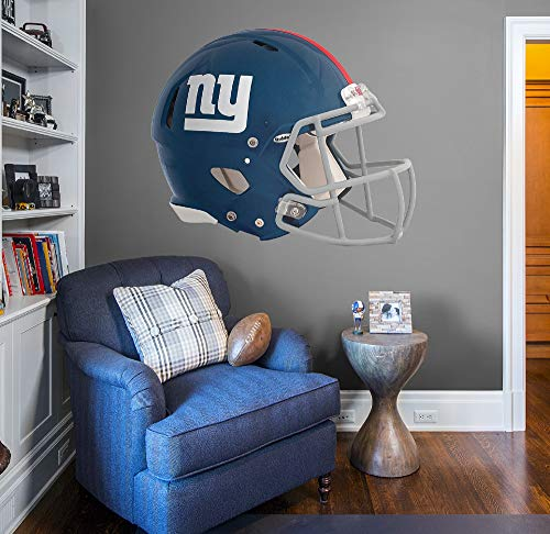 Fathead NFL New York Giants New York Giants: Helmet - Giant Officially Licensed NFL Removable Wall Decal