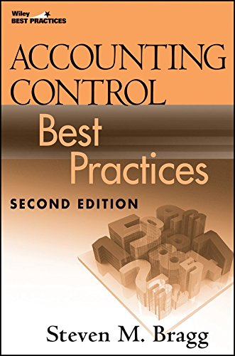 Accounting Control Best Practices Pdf