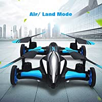 Your Supermart Flying Car RC drone and Car 2.4GHz 6CH 4Axis Remote Control Drone Aircraft Quadcopter