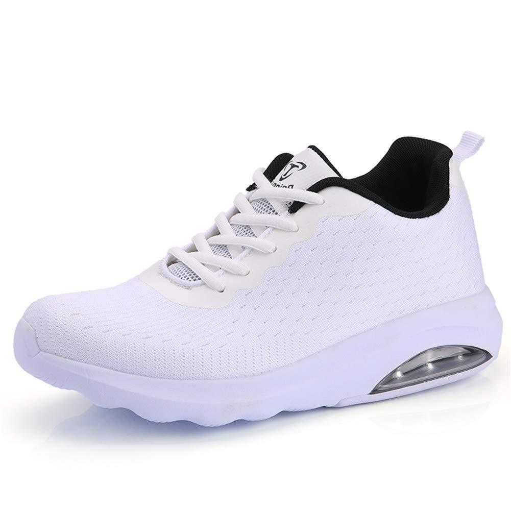 Fexkean Herren Damen Sneaker Laufschuhe Sportschuhe Air Leicht WalkingSchuhe Running Turnschuhe Shoes(B33WH40)