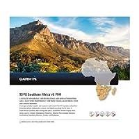 Garmin Topo Southern Africa Prov3 Topographische Vektorkarte, schwarz, Uni
