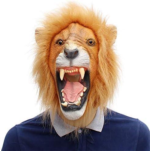 AARRM León máscara de la máscara Animal máscaras de Carnaval león ...