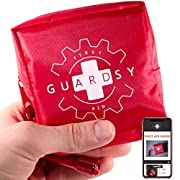 Guardsy Mini First Aid Kit | Compact Small Medical Emergency Survival Kit perfect for Car, Travel, Hiking, Camping…