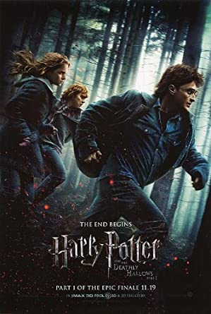 Harry Potter And The Deathly Hallows Part One Authentic Original