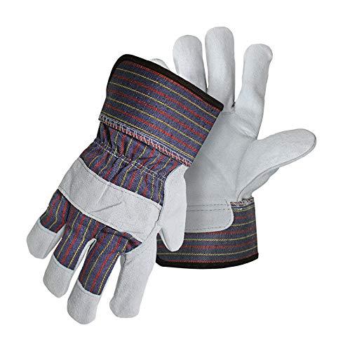 - Gloves Lthr Palm Lg 3pk