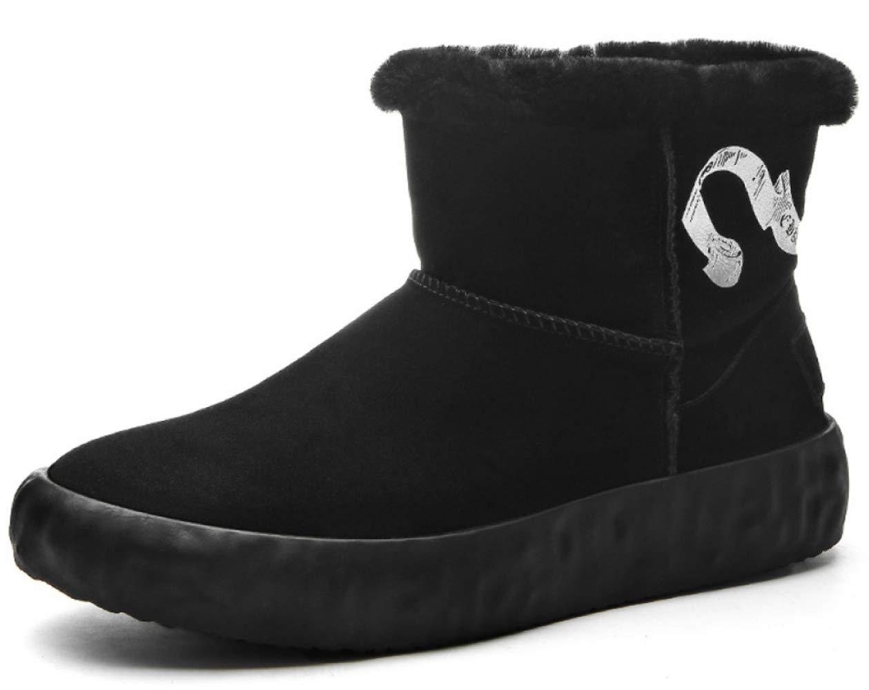 RSHENG Schuhe Stiefel Für Warme Lederschuhe Der Wintermode Für Herren Herren Herren 30a07e